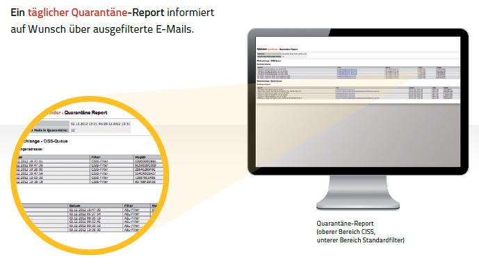 Quarantäne Report